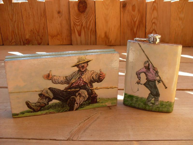 Сувениры и Подарок для рыбака картины
