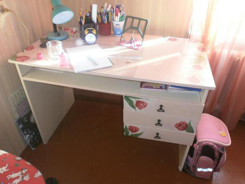 Своими руками переделка письменного стола