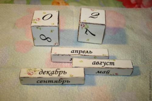 Как сделать вечный календарь своими руками из бумаги