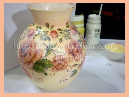 из стеклянной вазы фарфоровую 14