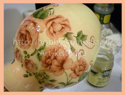из стеклянной вазы фарфоровую 15