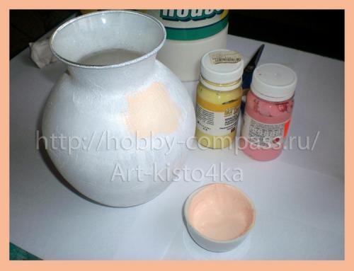из стеклянной вазы фарфоровую 5