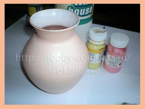 из стеклянной вазы фарфоровую 6
