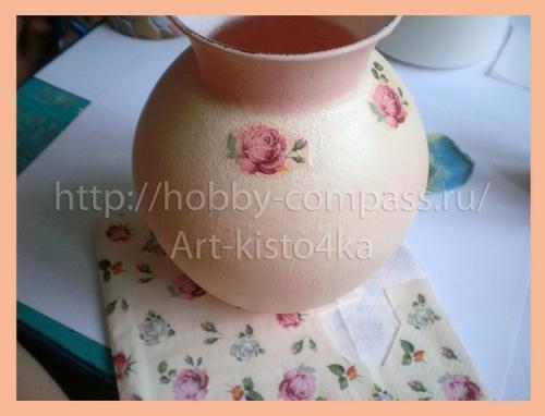 из стеклянной вазы фарфоровую 9