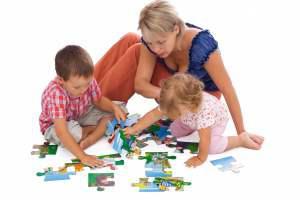 Раннее развитие: пазлы и поделки для детей