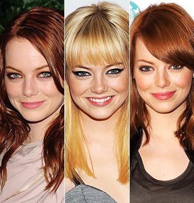из рыжего в блонд