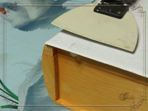 Эффект «свечения» в декупаже на деревянных заготовках 138961