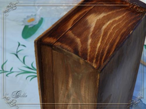 Эффект «свечения» в декупаже на деревянных заготовках 138966