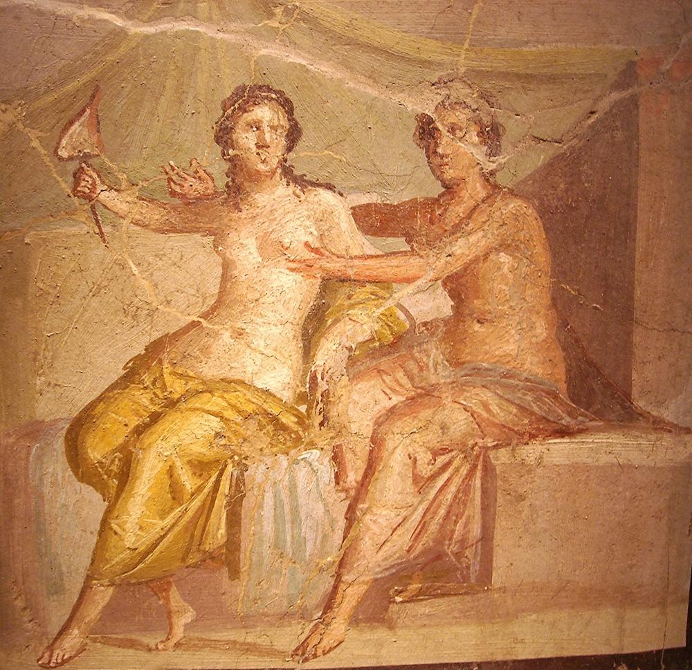 Эротика в фресках 6 фотография