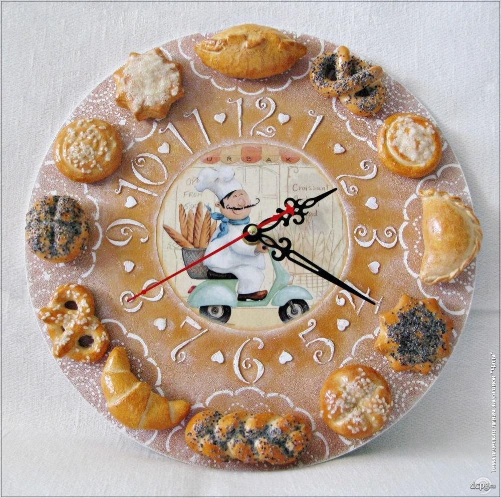 Часы своими руками из заготовки