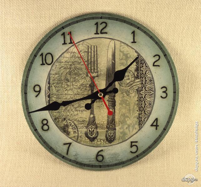 Сделать красивые настенные часы своими руками - Veproekt.ru