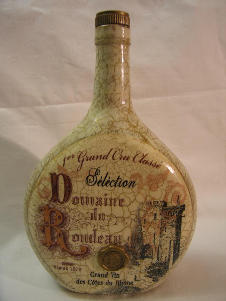 Декупаж бутылок под старин
