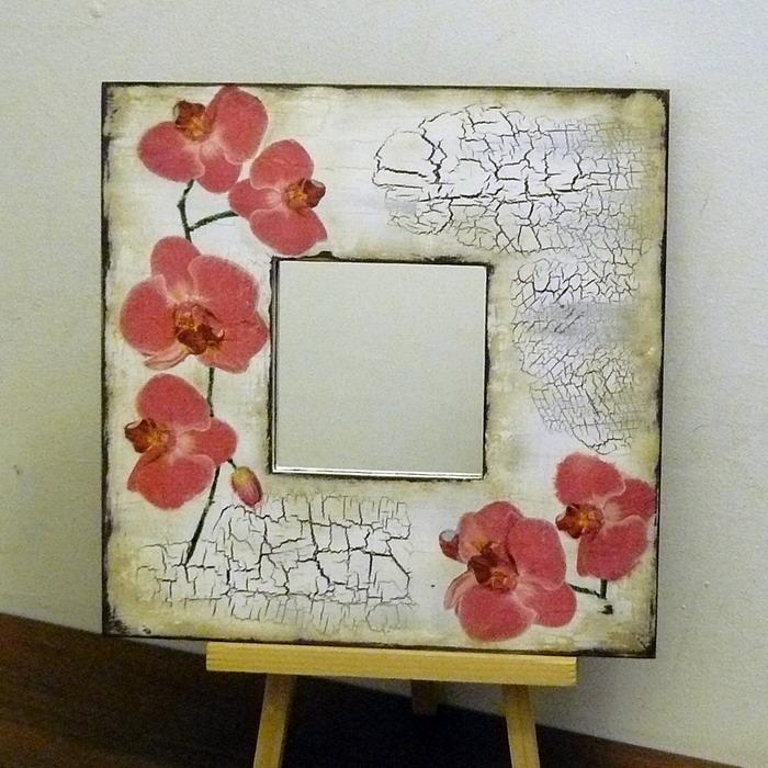Декупаж зеркала