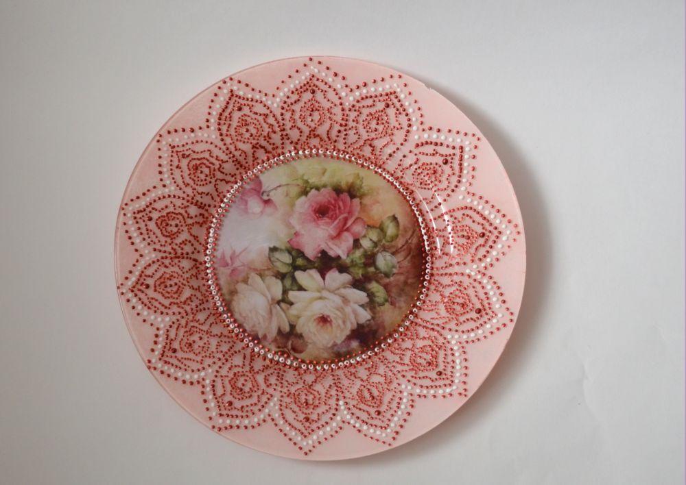 Расписные тарелочки своими руками 21