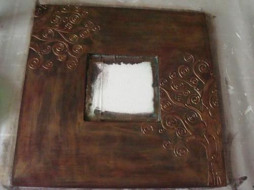 Зеркало с эффектом старого металла 50866