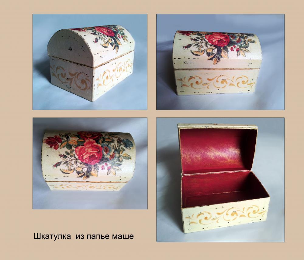 Как сделать коробку из папье-маше своими руками 20