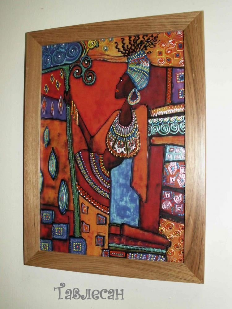 Африканские мотивы своими руками 48