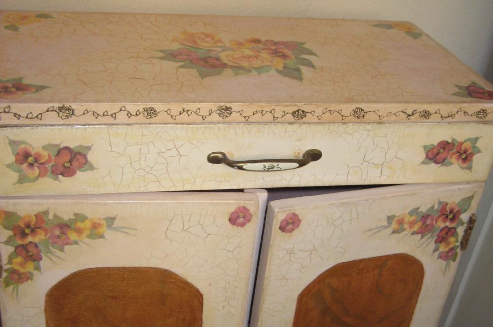 Мебель своими руками декупаж