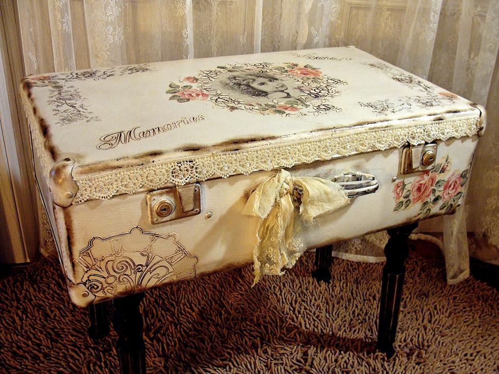 Фото что можно сделать из старого чемодана своими руками 43