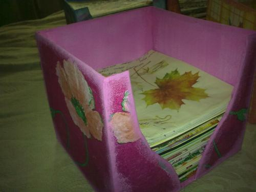 Сделать салфетницу своими руками в домашних условиях