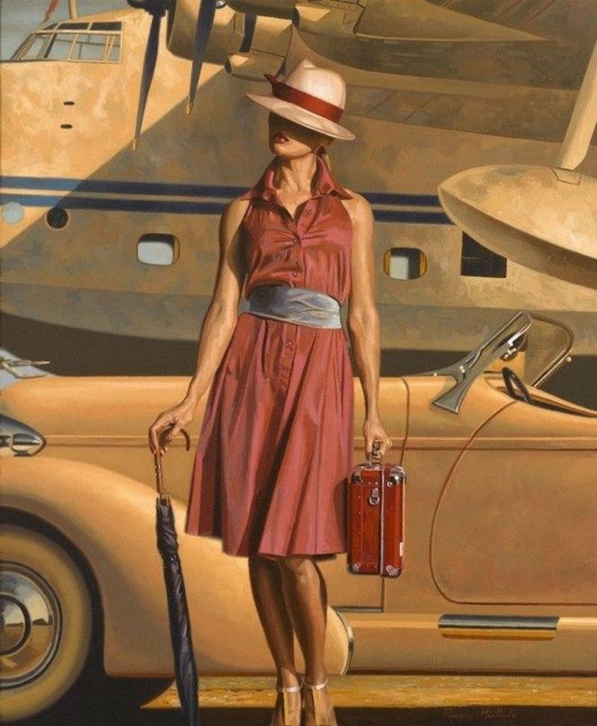 60694 - Женщина в дороге