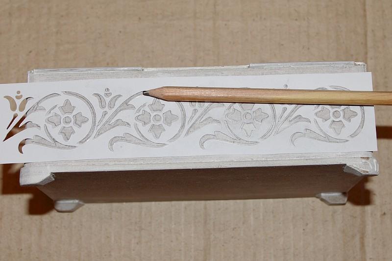 рисуем узоры карандашом: