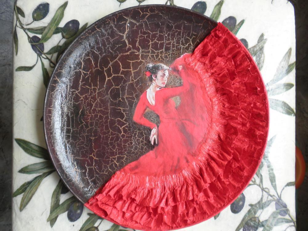 Как сделать декоративные тарелки на стену мастер класс