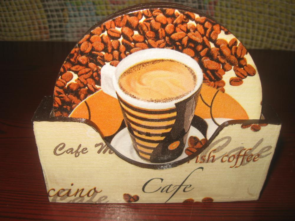 Подставка под горячее своими руками кофе