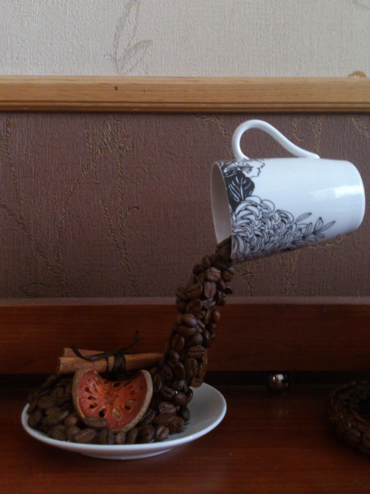 Красивая чашка кофе фото